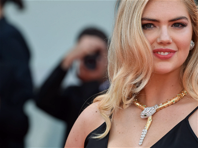 Model Kate Upton Celebrates 28th Birthday On Instagram With Cleavage, Cake & Champagne Show