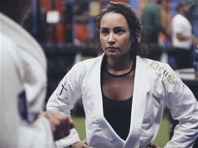 Demi Lovato Beat Ronda Rousey In A Fight Last Week