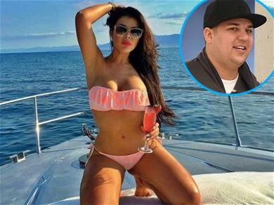 Rob Kardashian Is Spending Christmas Weekend With A New Lady … But It's Not What You Think