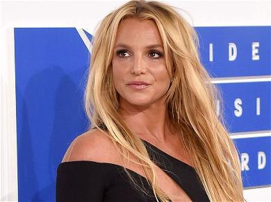Britney Spears Celebrates COVID Vaccine In Tiny Top