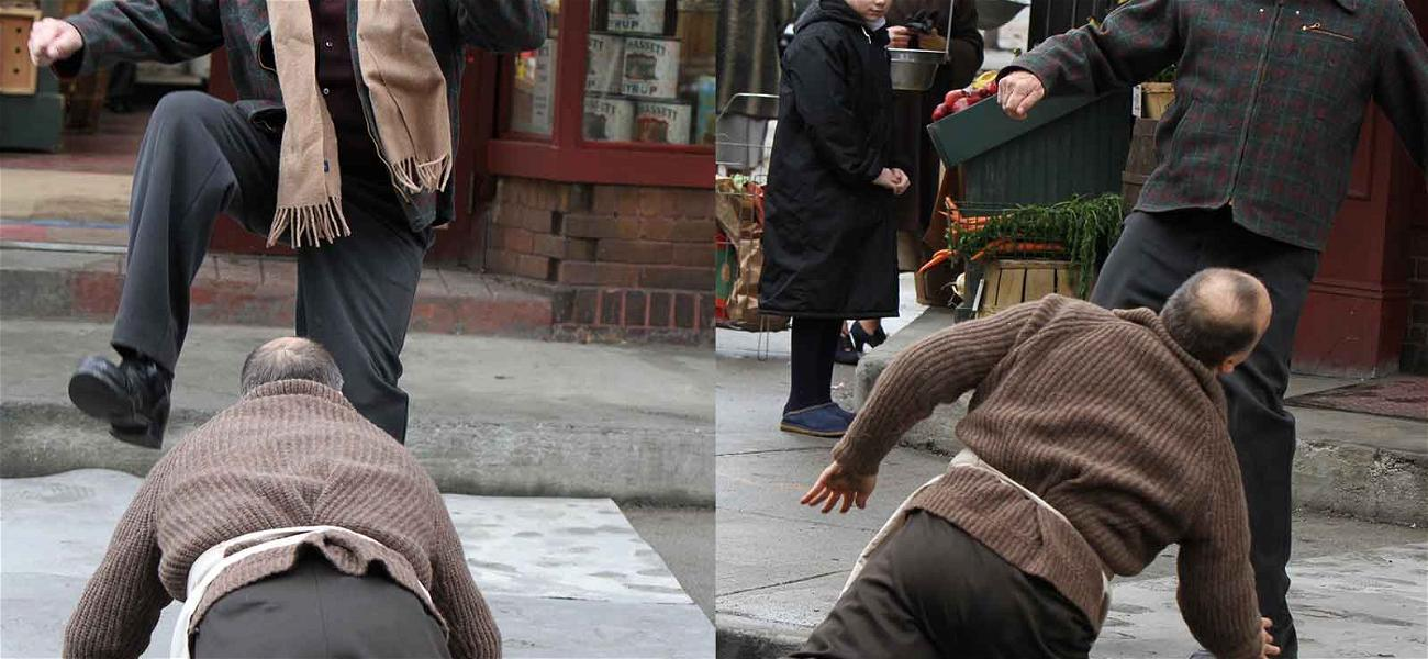 Robert De Niro Curbs His Enthusiasm By Stomping Co-Worker On Set