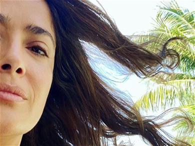 Salma Hayek Burns Instagram With Another All-Natural Selfie For A 'Beautiful Sunday'