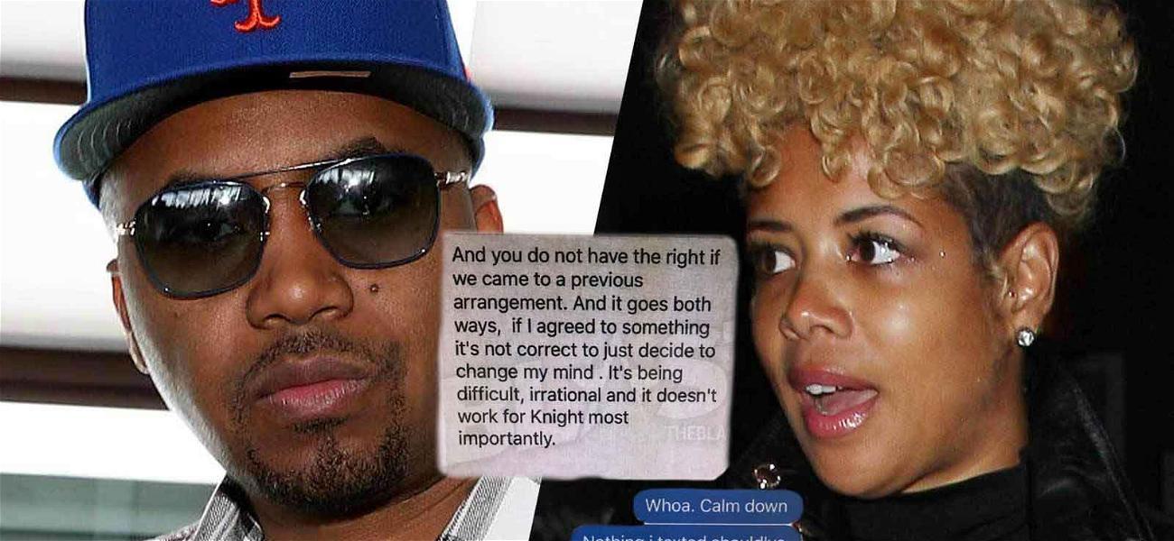 Nas and Kelis Warring Over Custody Again: See the Explosive Text Exchange