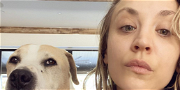 Kaley Cuoco Magically Gets Her Adorable Dogs To Pose In Front Of Her Christmas Tree!