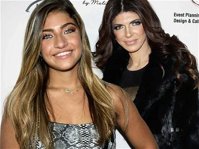 'RHONJ' Star Teresa Giudice's Daughter Reaches Goal in Petition to Help Save Dad Joe from Deportation