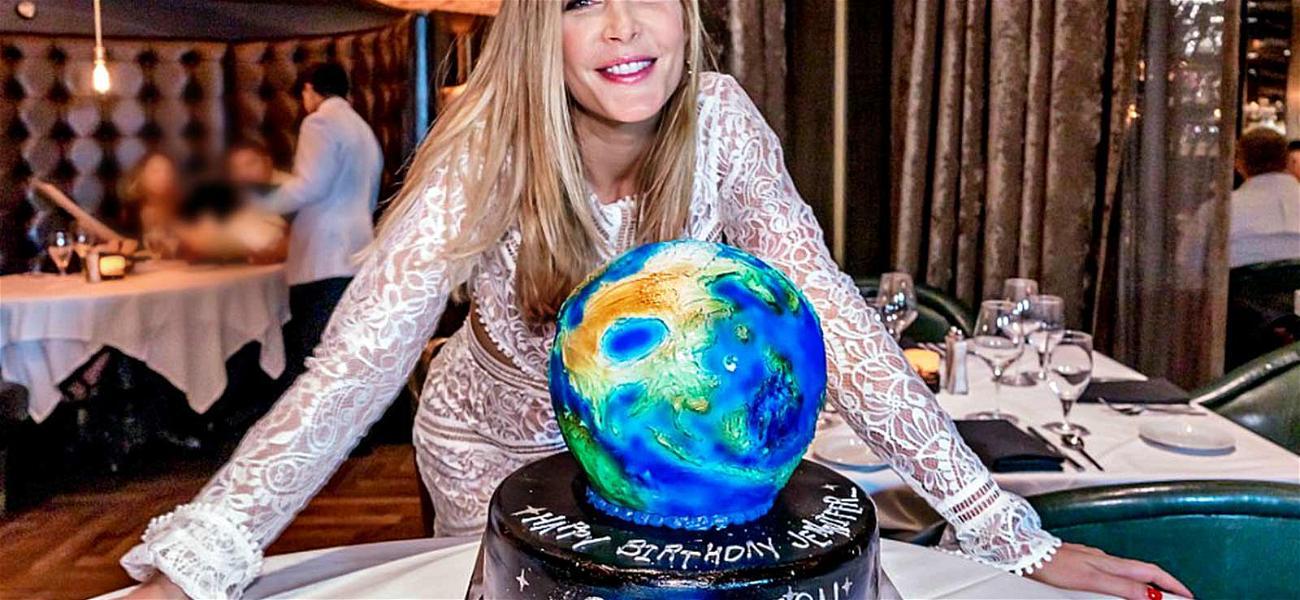 'Salvation' Star Jennifer Finnigan Cuts Into Birthday Space Cake with Hubby Jonathan Silverman