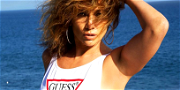 Jennifer Lopez Does A Coffee, Tea or Me Vibe In Hot Dress With Cleavage