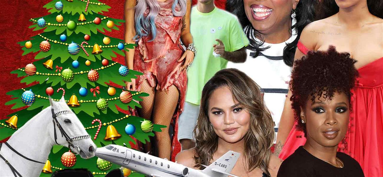 The 8 Most Extravagant Celebrity Christmas Gifts