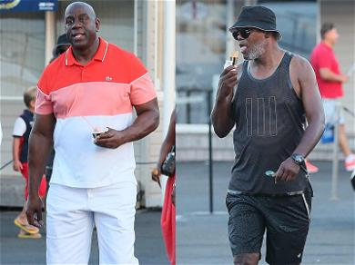 Wish We Were There – Magic Johnson, Samuel L. Jackson Channeling Ben & Jerry in St. Tropez