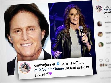 Caitlyn Jenner Wins the 10-Year Challenge With Epic Post