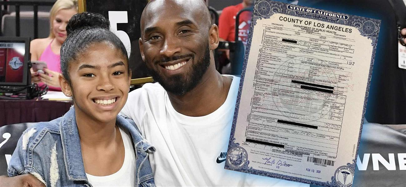 Kobe Bryant's Death Certificate Says NBA Legend Died in 'Rapid' Manner During Helicopter Crash