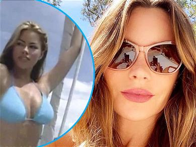 Sofia Vergara Shares Sultry Throwback Video From Her Bikini Modeling Days In Her Twenties