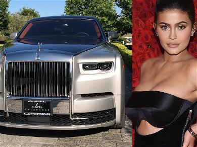 Kylie Jenner Adds $450k Rolls-Royce Phantom to Her Car Collection
