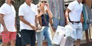 Tom Hanks and Rita Wilson Go on Shopping Spree During Italy Vacation