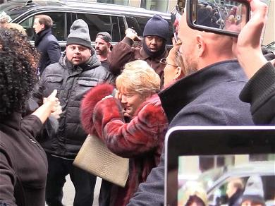 ¡Ay, Dios Mío! Jennifer Lopez' Mom Smacked in the Face by Autograph Seeker