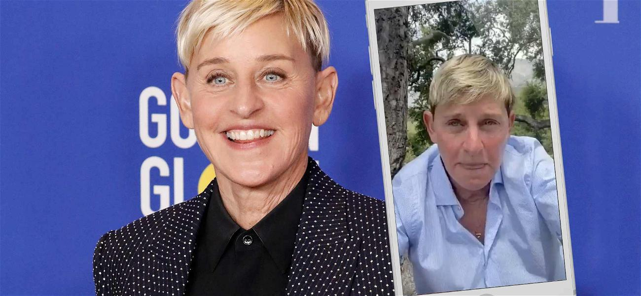 Ellen DeGeneres Holds Back Tears Responding To Black Lives Matter Criticism