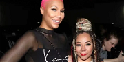 T.I.'s Wife, Tiny Harris, Prays For A Swift Recovery For Friend & 'Sister' Tamar Braxton