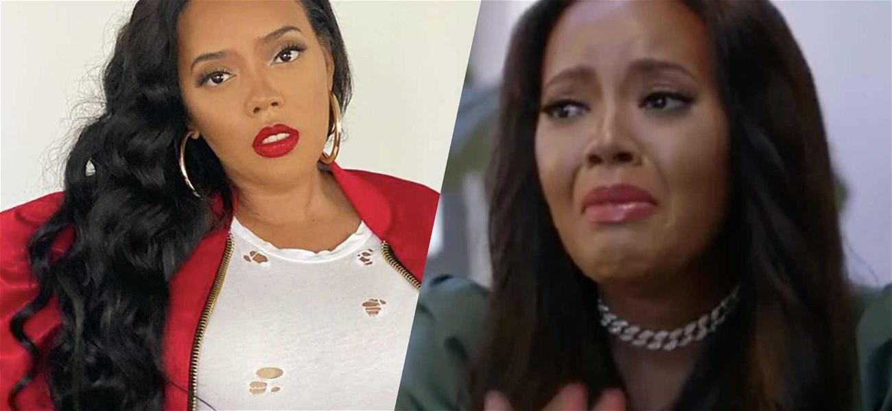 Angela Simmons Breaks Down Crying Over Her Ex-Fiancé's Death