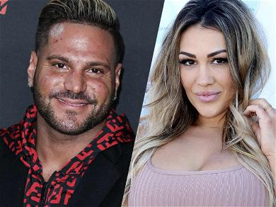 'Jersey Shore' Star Ronnie's Ex Jen Harley Claps Back After Being Accused Of Riding His Coattails