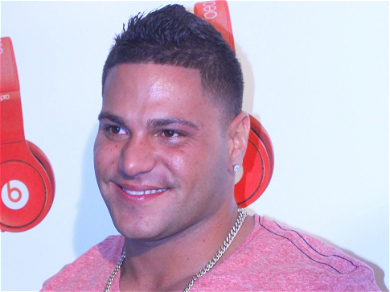 'Jersey Shore' Ronnie Behind Bars for Felony Domestic Violence, Bail Set at $100K