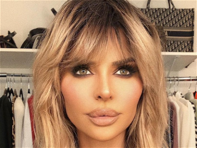 'RHOBH' Star Lisa Rinna Dresses Up As 'Election Barbie' In Unzipped Sequined Tracksuit