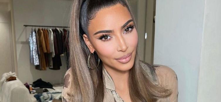 Kim Kardashian Puts On Full Sexy Camouflage On Instagram?