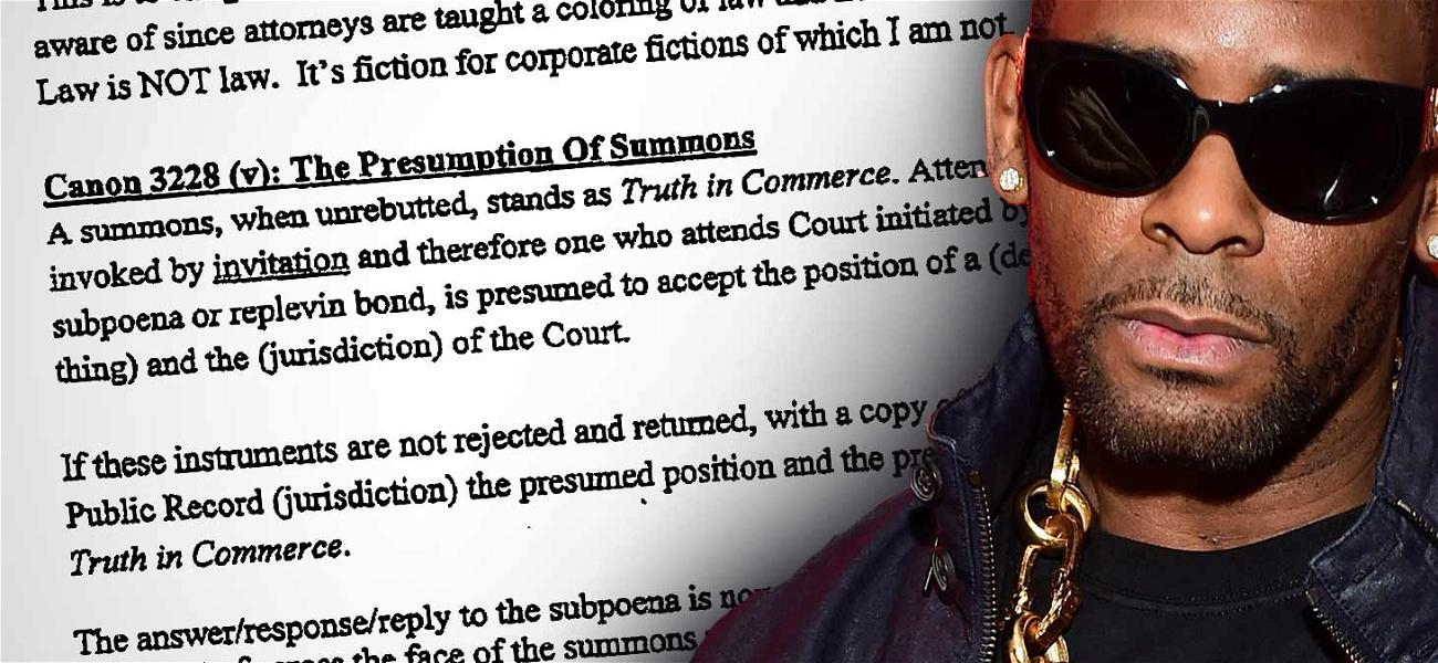 R. Kelly Accused Alleged Sexual Battery Victim of Being 'Selfish' in Threatening Letter
