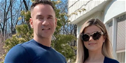 Mike 'The Situation' & Wife Lauren Celebrate 8-Month Milestone With Baby Bumpin' Easter Pic