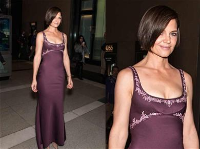 Katie Holmes Shows Off Usually Covered Curves & We Love Every Angle