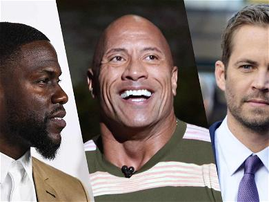 The Rock References Kevin Hart's Car Accident in Birthday Message To Paul Walker