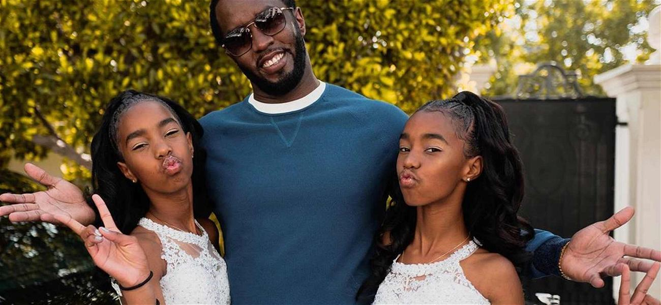 Diddy Celebrates 8th Grade Graduation of Twin Daughters He Shares With Kim Porter