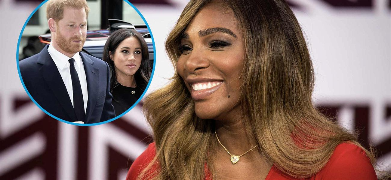 Did Serena Williams Just Reveal the Gender of Meghan Markle's Royal Baby?!