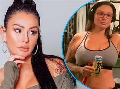 JWoww Teases Totally Ripped Body While Flexin' On Us With Hunky BF