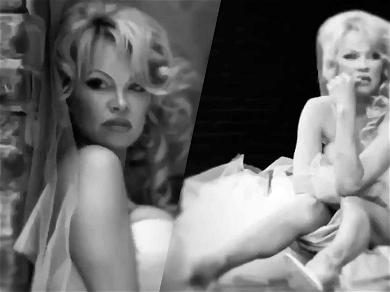Pamela Anderson Is A Runaway Bride In New Video After Her Last Marriage Lasted 12 Days