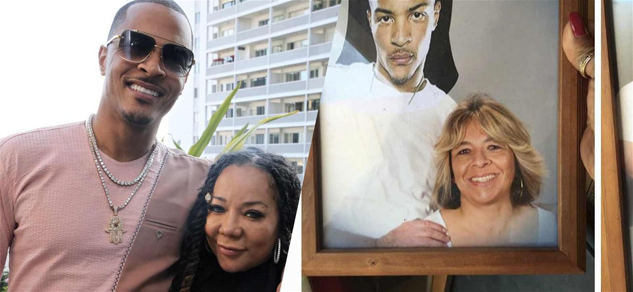 Rapper T.I. Jokes About 'Secret Family' After Divorcee Tapes His Face On Old Family Photos
