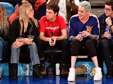 Pete Davidson All Smiles With Chloë Sevigny After Lashing Out at Online Bullies Following Ariana Split
