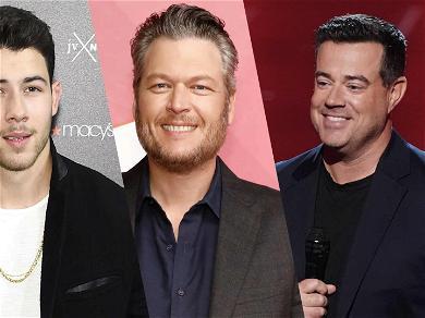 'Voice' Host Carson Daly Trolls Blake Shelton By Bonding With New Judge Nick Jonas