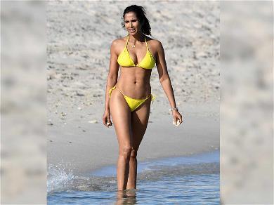 Padma Lakshmi's Bikini Body Is Straight (Quick)Fire!