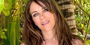 Elizabeth Hurley Jiggles Her Jelly In Unbuttoned Top