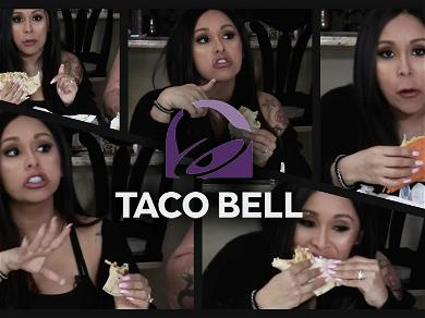 Watch Snooki Eat Taco Bell for the First Time: 'What Are the Calories on This Thing?'