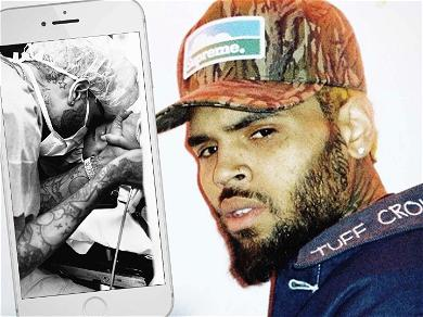 Chris Brown Shares Emotional Pics From Son Aeko's Birth, See His Adorable Face!