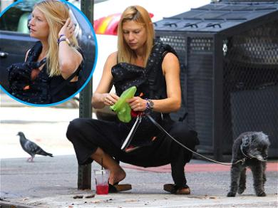 Claire Danes Pulls Double Doody During Walk With Newborn Son