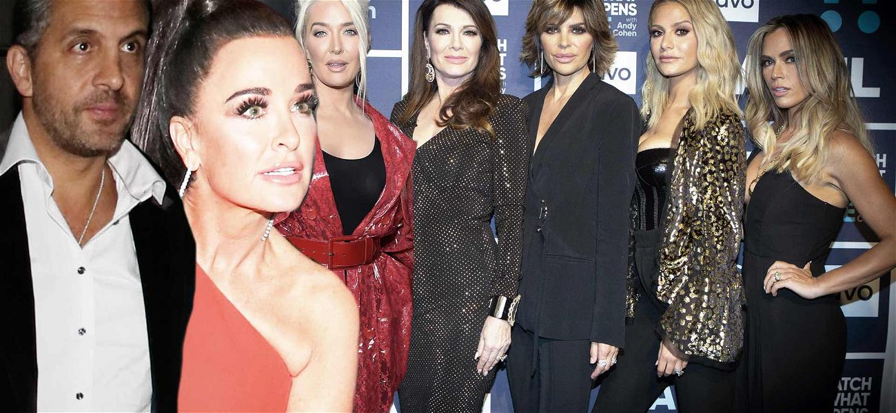 Kyle Richards and Her 'RHOBH' Co-Stars to Be Dragged Into Her Husband's $32 Million Legal Battle