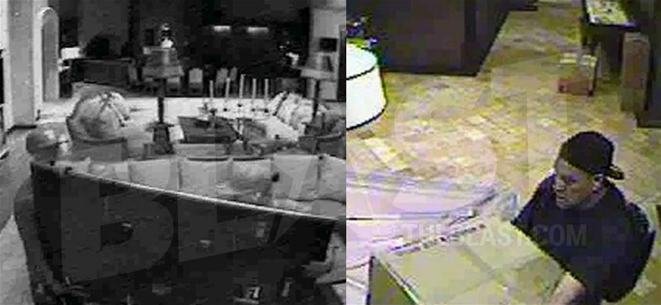 Dan Bilzerian's Vegas Burglars Caught on Camera