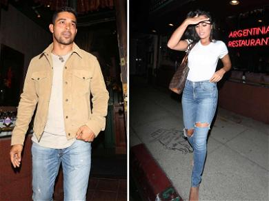 Wilmer Valderrama Out With Hot Demi Look-Alike