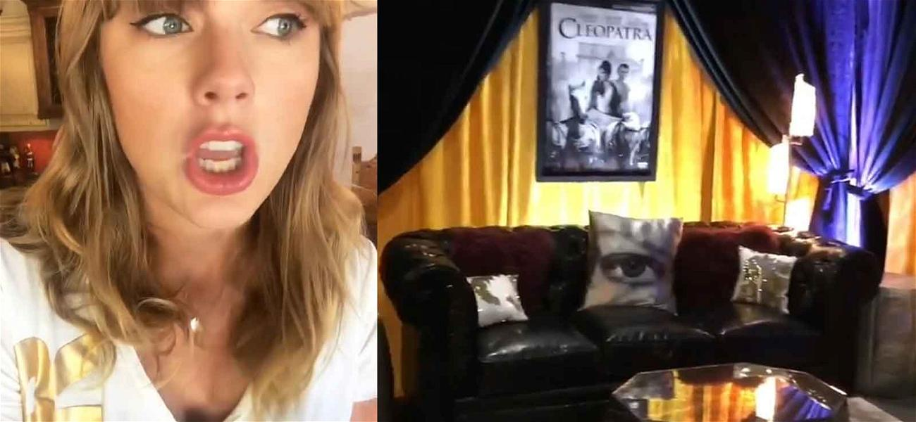 Taylor Swift's Dad Wants to Give You Pocket Lint at Her Concert