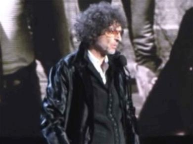Howard Stern Makes Rare Public Appearance to Induct Bon Jovi Into the Rock and Roll Hall of Fame