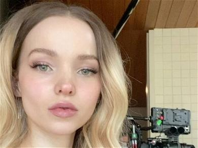 Dove Cameron Exposes Kitty In Late-Night Undies