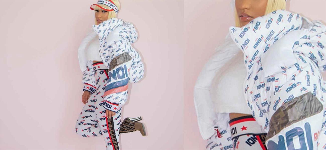 Nicki Minaj Wears Tiny Crop Top With No Bra … That's Just Fashion, Baby!