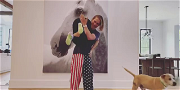 Kaley Cuoco Gets Spanked By Her Husband While Busting The 'Koala Challenge'